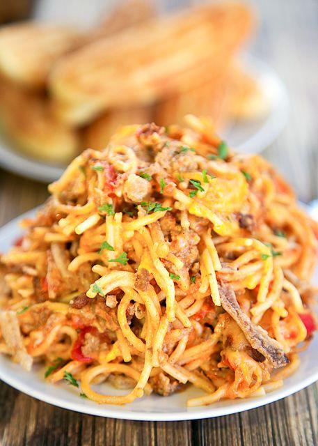 Chili Spaghetti CasseroleReally nice recipes. Every hour.Show me  Mein Blog: Alles rund um die Themen Genuss & Geschmack  Kochen Backen Braten Vorspeisen Hauptgerichte und Desserts # Hashtag