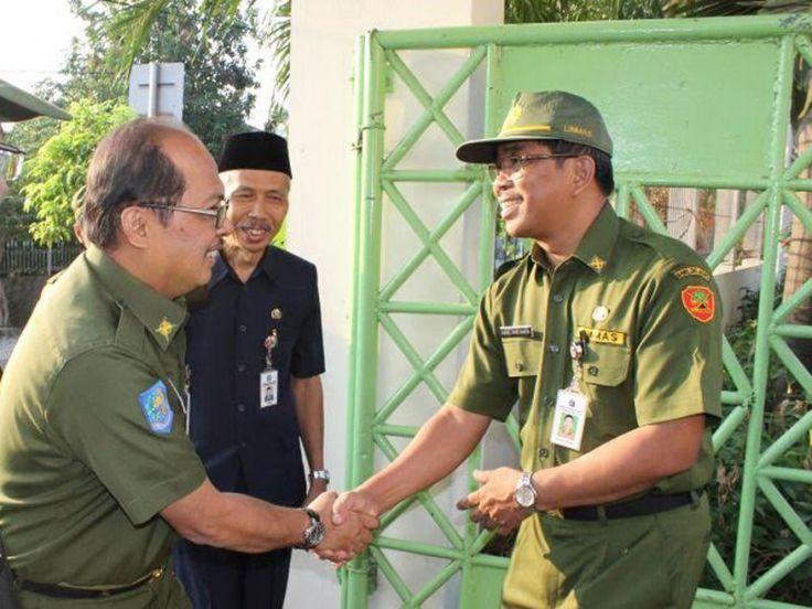 Walikota Tri Kurniadi disambut Sudin Pendidikan