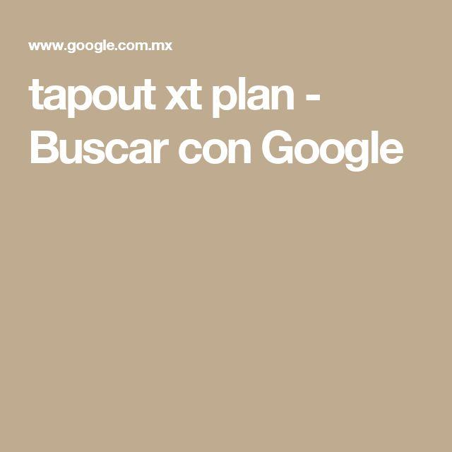 tapout xt plan - Buscar con Google