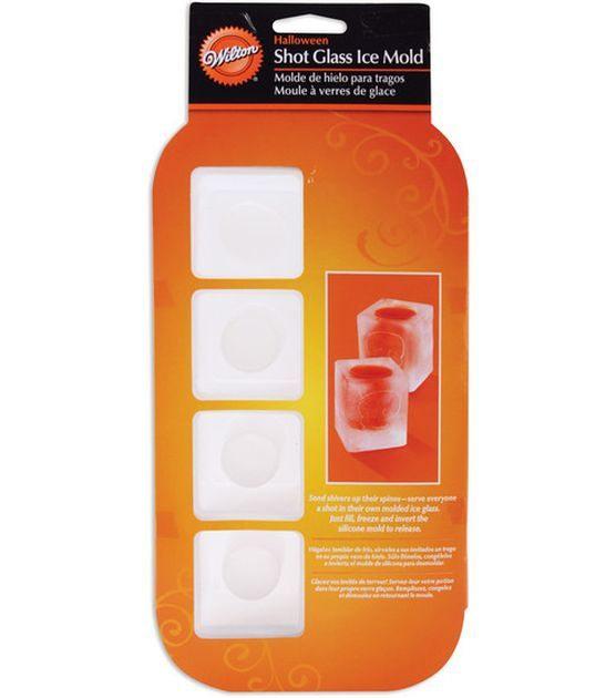 how to use ice shot molds