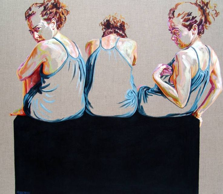 """Saatchi Art Artist Cristina Troufa; Painting, """"Orgulho"""" #art  What: I like the repetition and different angles."""