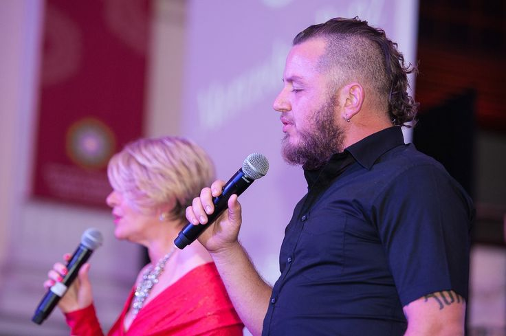 Ard Matthews and Kim Kallie were the musical acts of the evening.