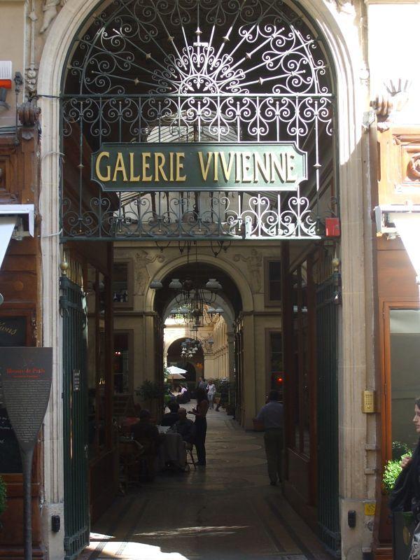 Galerie Vivienne, donde solía ir a deambular Julio Cortázar, el Enormísimo Cronopio.