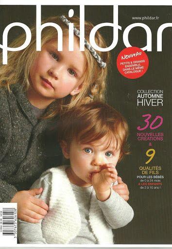 Phildar №61 Enfants automne-hiver *