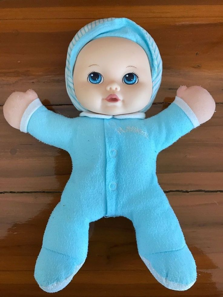 Details About 1990s Rare Playskool My Very Soft Baby Doll
