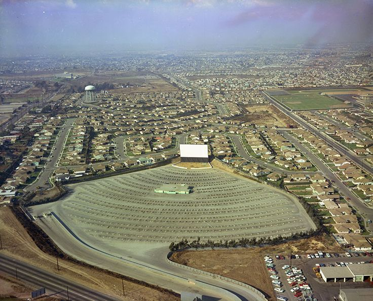48 best torrance california images on pinterest torrance aerial view of torrance drive in theater torrance blvd peeks out at bottom left sciox Images