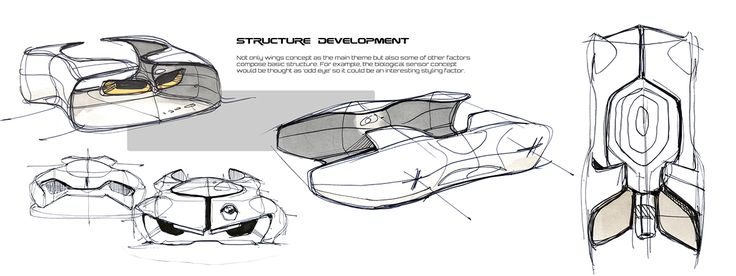 The project was started from a meaningless doodling. In the doodling, I have just drawn a kind of future policemen (or local sheriffs) and thought what if these become a car. So to speak, I created a concept motive for myself and proceeded the design usin…