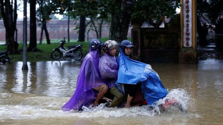 Vietnam: At least 27 killed by Typhoon Damrey https://tmbw.news/vietnam-at-least-27-killed-by-typhoon-damrey  Media playback is unsupported on your deviceA typhoon which battered southern and central Vietnam has left at least 27 people dead, and more than 20 missing.Typhoon Damrey made landfall on Saturday, with winds of up to 90 km/h.More than 40,000 homes have been damaged, people have been evacuated and there have been widespread power cuts.The worst affected area was the city of Nha…