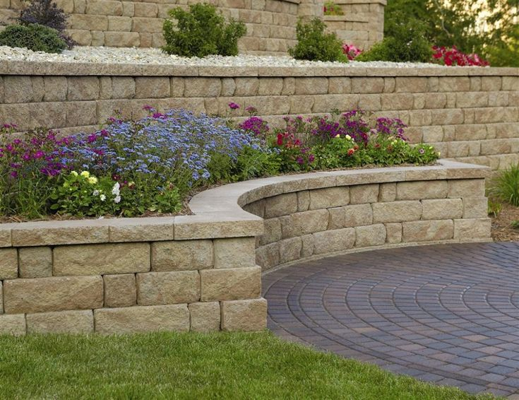 Retaining Wall And Freestanding Wall Block Idea U0026 Photo Gallery   Enhance  Companies   Brick Paver Installation And Sales   Jacksonville, Gai.