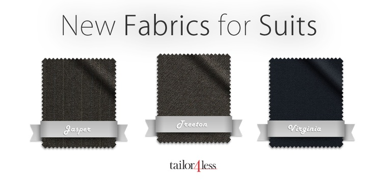 Discover our new suit fabrics! www.tailor4less.com