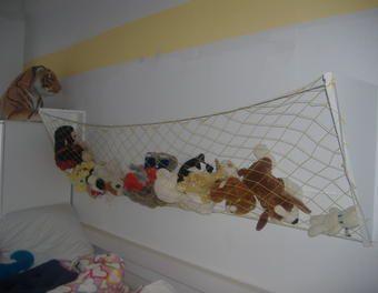 Netz - Aufbewahrung für Kuscheltiere  Regal,Kinderzimmer,Kinder,Netz