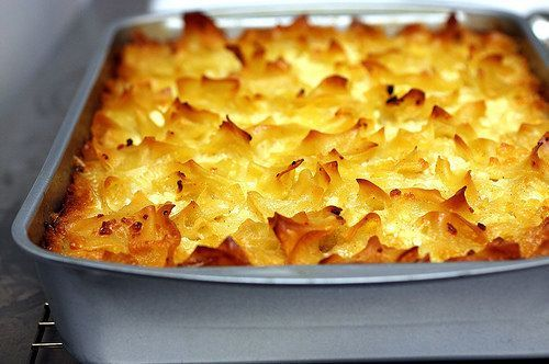 A sweet or savory KUGEL