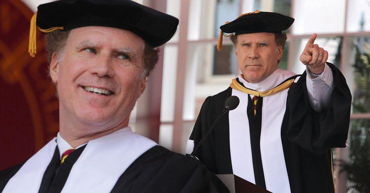 El comediante Will Ferrell recibió un doctorado honoris causa en su alma mater, la Universidad del Sur de California (USC), y su discurso se volvió viral