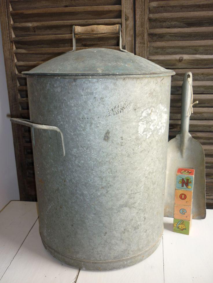 1176 beste afbeeldingen van zink for Poubelle en zinc