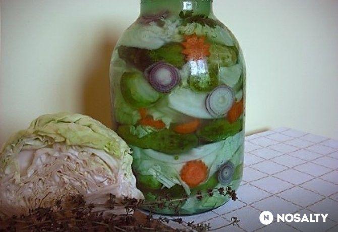Muratura - vegyes savanyúság sós vízben