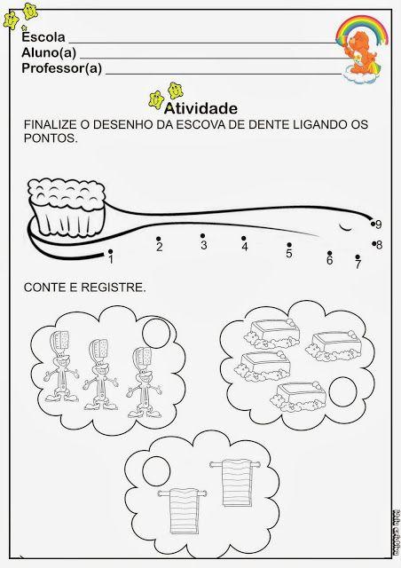 Atividades Sobre Higiene Para Educacao Infantil Com Imagens
