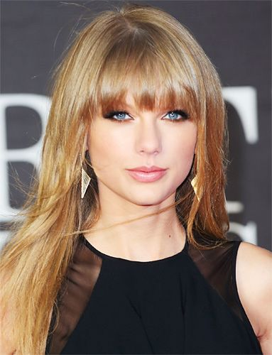 Layered Bangs: Celebrity Looks That Will Inspire You -- Taylor Swift