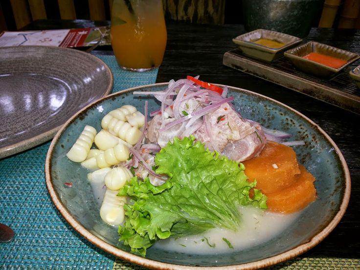 Cebiche Peruano - Restaurante La Mar - Lima