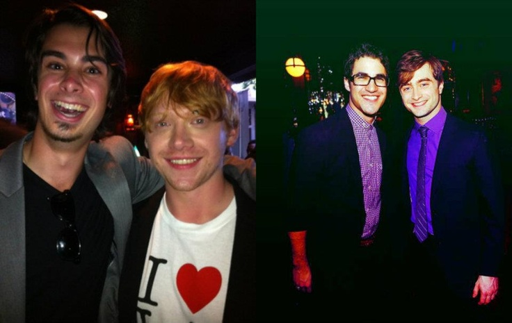 Joey Richter and Rupert! Darren and Dan! A Very Potter Musical and Harry Potter movies meet up together!!!