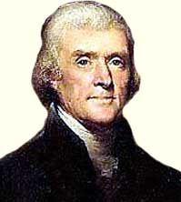 Томас Джефферсон (Thomas Jefferson) — американский государственный деятель, просветитель; третий президент США (1801-1809); идеолог демократического направления Американской революции; автор проекта Декларации независимости США, один из отцов-основателей Соединенных Штатов Америки - http://to-name.ru/biography/tomas-dzhefferson.htm