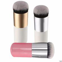 Rodada Pincel de Maquiagem BB Cream Concealer Foundation Pó Pincéis Sintéticos Fifber Rosto Cosméticos Blush Brush Make Up Ferramenta de Beleza(China (Mainland))