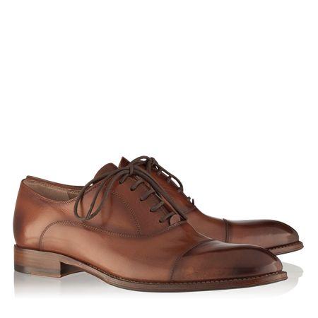 pantofi 2726 VITELLO CUOIO