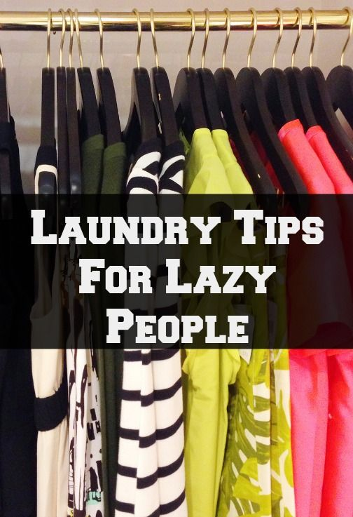 Laundry Tips For Dummies and Lazy People - How To Wash Clothes