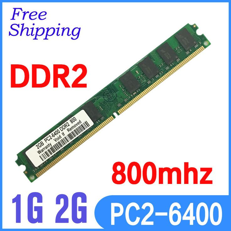 Stock brand DDR2 800 / PC2 6400 2GB DDR2 RAM Memory For all MBcompatible with DDR2 ram