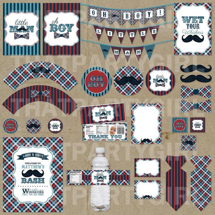 222 best Mustache party images on Pinterest Men party Moustache