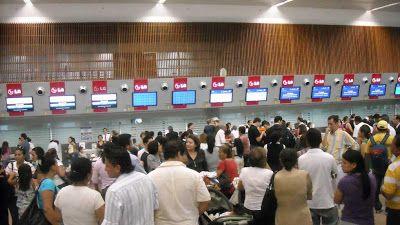 Horario salida llegada vuelos nacionales Aeropuerto de Guayaquil