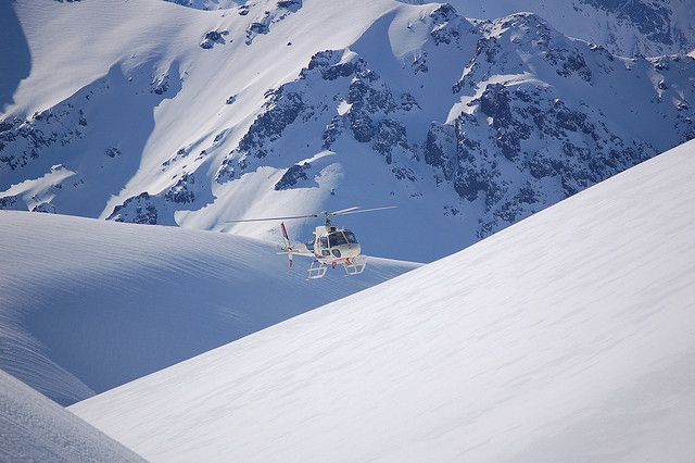 Heli skiing in Chile with Pure Powder