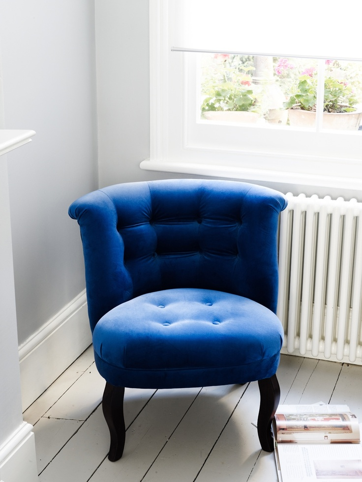 Velvet Tub Chair | Unique Living Room Furniture & Accessories | Contemporary Living Room Ideas | Living | Homeware | Oliver Bonas
