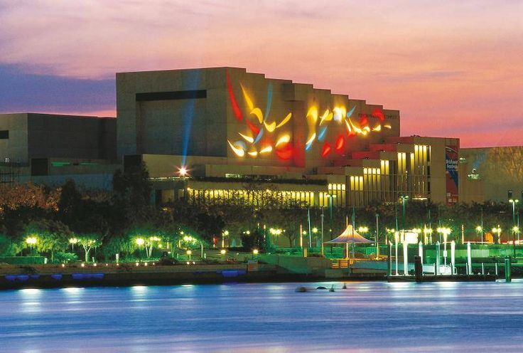 Queensland Cultural Centre, Brisbane, Australia.