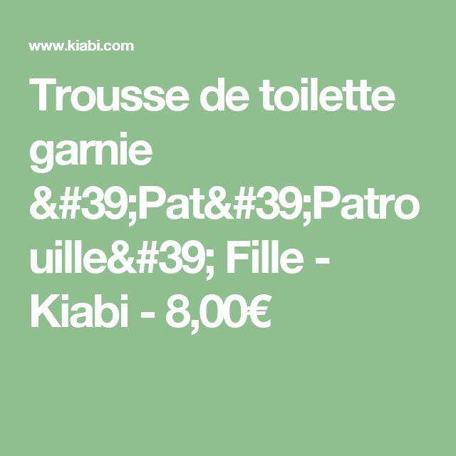 Trousse de toilette garnie 'Pat'Patrouille' Fille - Kiabi - 8,00€