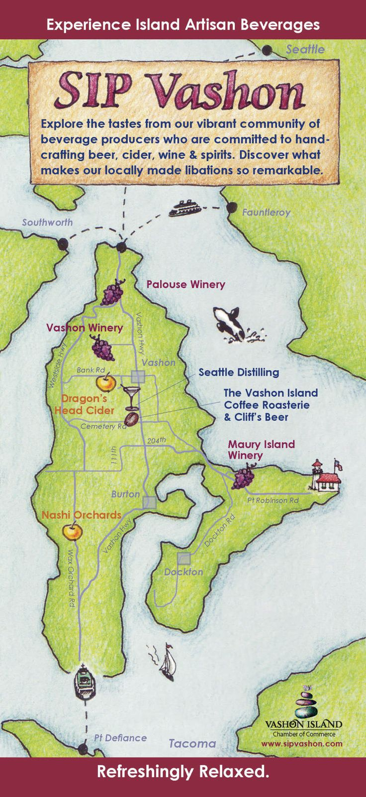 Vashon-Maury Island Chamber of Commerce - Sip Vashon