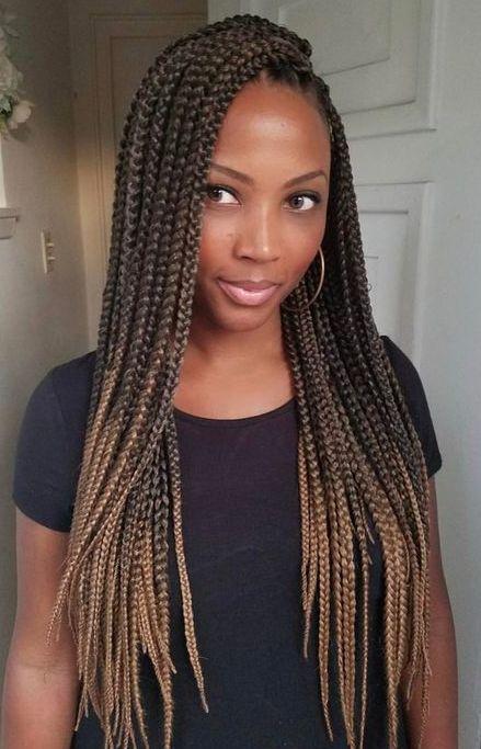 60 Totally Chic Box Braids Hairstyles