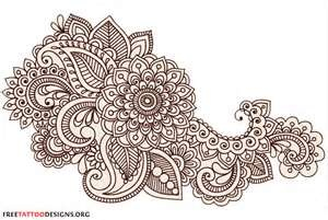 Here Are Some Typical Henna Designs And Patterns Simple