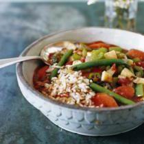 Vegan Louisiana Gumbo With Rice Recipe