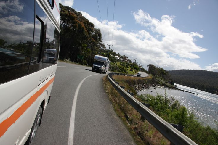 You'll enjoy the beautiful scenery while you are a exploring Tassie in your camper #Tassie #Tasmania #motorhomehobart