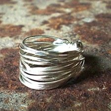 Tangled Wire Wrap Ring