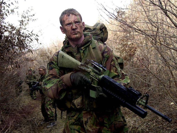 ..._Royal Marines Commando - Brigade Patrol Troop - Kosovo