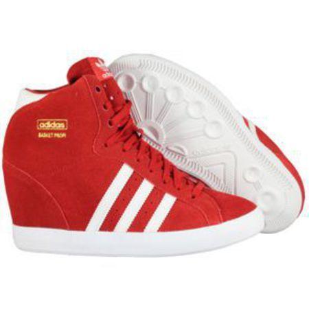 adidas basket profi wedge sneakers femme compensées