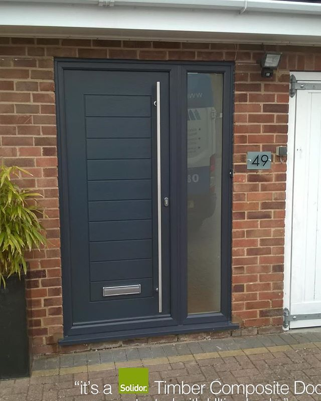 Anthracite Grey Palermo With Side Panel Solidor Timber