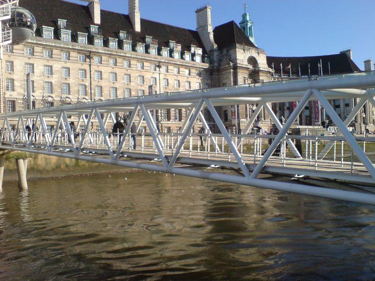 Truss Bridge Jetty Truss Bridge London Eye Bridges