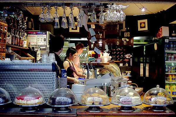 Cafe Andiamo, Melbourne, degraves lane