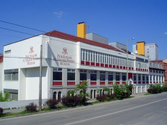 Salami and Szeged Paprika Museum - Szeged