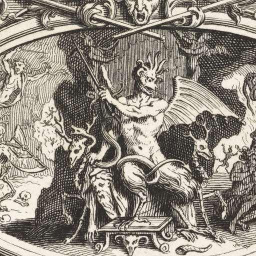 Duivels in de onderwereld, Bernard Picart, 1715 - Rijksmuseum