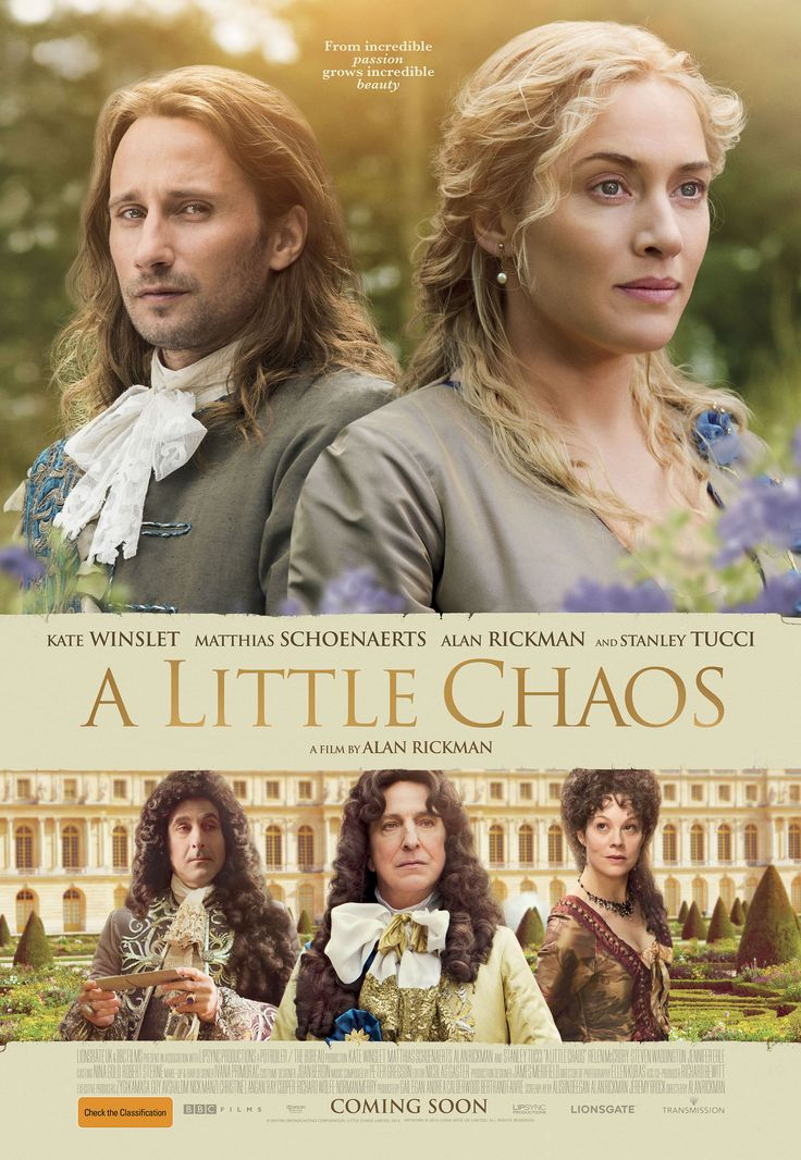 Kathleen Wellman Southern Methodist University   A Little Chaos, directed by Alan Rickman, brings to viewers a fictional story set in the court of Louis XIV. It features a talented cast, inclu…