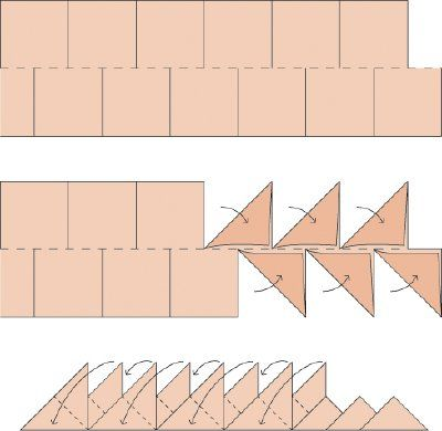 Border Quilting Designs | ... are three steps to constructing the Jagged Edge Quilt Border Pattern