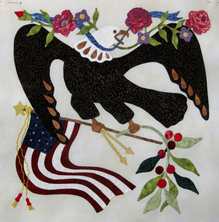 589 Best Images About Patriotic Quilts Eagle Quilts On